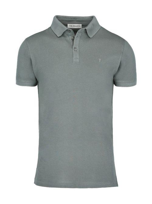 Trussardi - Polo majica sa dugmićima - 52T00492-1T003600-G216 52T00492-1T003600-G216