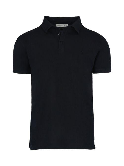Trussardi - Polo majica sa dugmićima - 52T00492-1T003600-K299 52T00492-1T003600-K299
