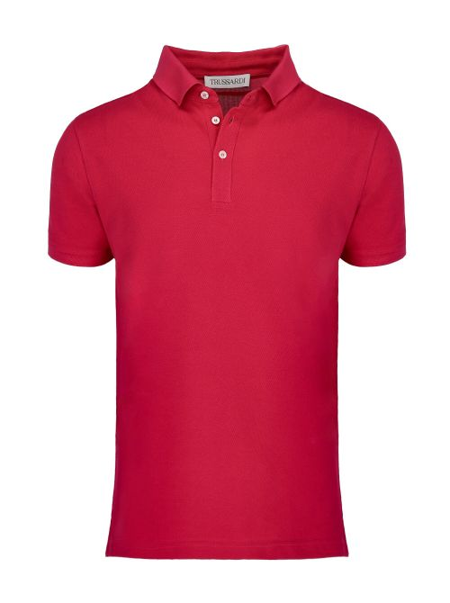 Trussardi - Polo majica sa dugmićima - 52T00492-1T003600-R154 52T00492-1T003600-R154