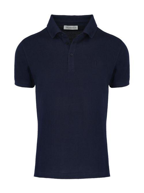 Trussardi - Polo majica sa dugmićima - 52T00492-1T003600-U290 52T00492-1T003600-U290