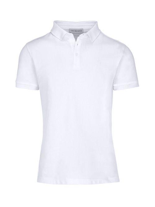Trussardi - Polo majica sa dugmićima - 52T00492-1T003600-W001 52T00492-1T003600-W001