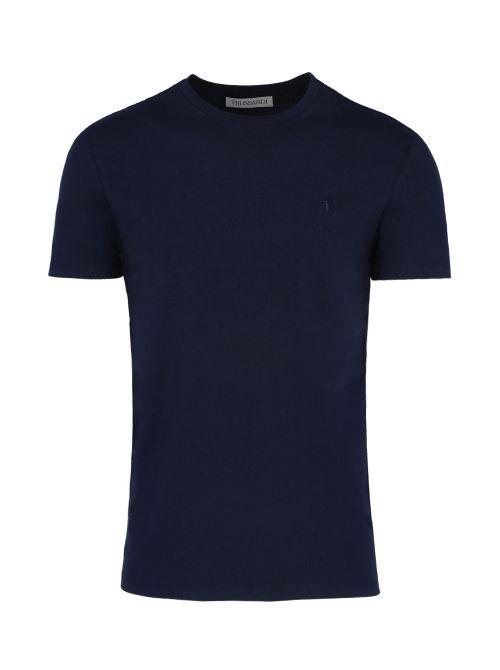 Trussardi - Pamučna majica - 52T00499-1T003614-U290 52T00499-1T003614-U290