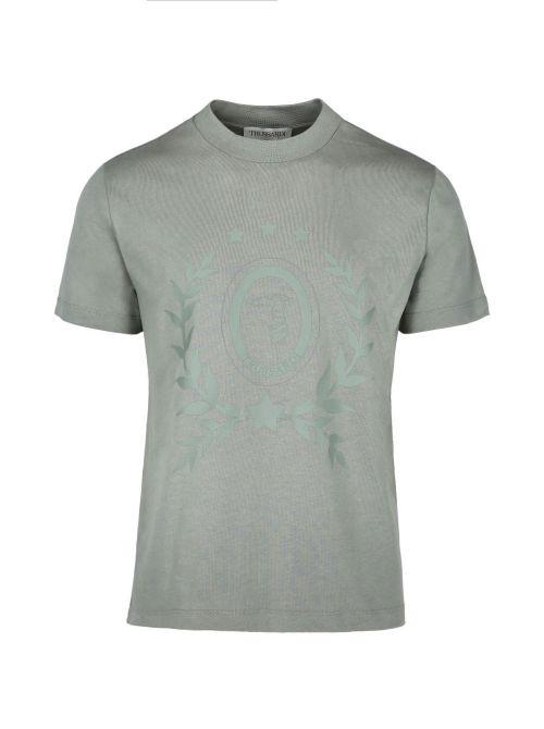 Trussardi - Pamučna majica sa printom - 52T00508-1T005309-G216 52T00508-1T005309-G216