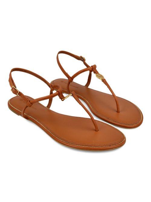Tory Burch - Emmy ravne kožne sandale - 63407-905 63407-905