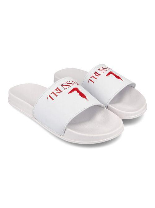 Trussardi - Gumene papuče sa logom - 77A00353-9Y099998-R150 77A00353-9Y099998-R150