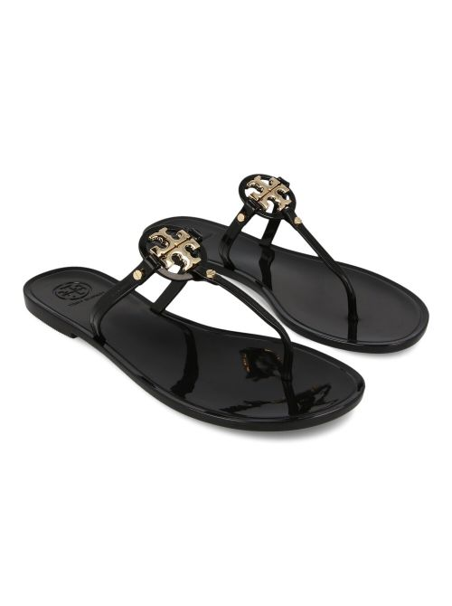 Tory Burch - Mini Miller kožne ravne sandale - 9296-001 9296-001