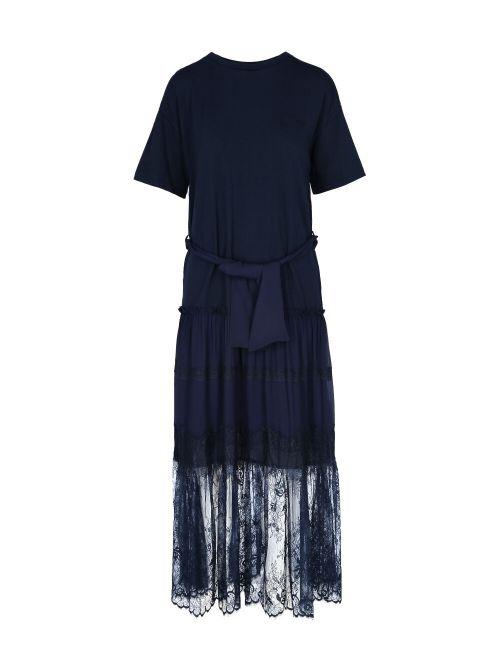 Ermanno Scervino - Duga haljina od čipke - D38ETAB04JCO-MF815 D38ETAB04JCO-MF815