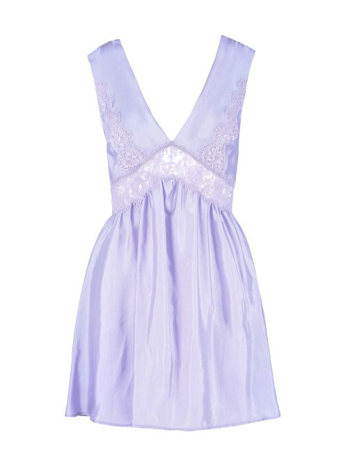 Ermanno Scervino - Mini haljina sa detaljima od čipke - D38ETAB09RAS-MF834 D38ETAB09RAS-MF834