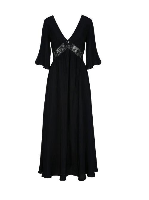 Ermanno Scervino - Maksi haljina sa detaljima od čipke - D38ETAB32RAS-MF099 D38ETAB32RAS-MF099