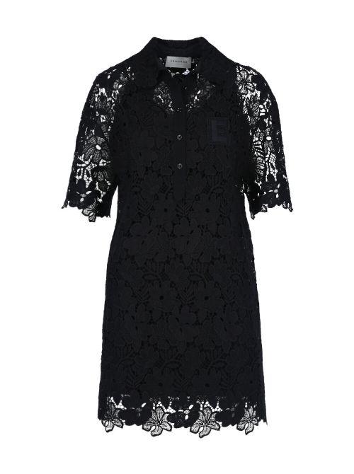 Ermanno Scervino - Mini haljina od čipke - D38ETAB42MAC-MF099 D38ETAB42MAC-MF099