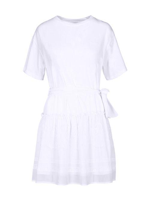 Ermanno Scervino - Mini haljina sa detaljima od čipke - D38ETAB48JCO-MF010 D38ETAB48JCO-MF010