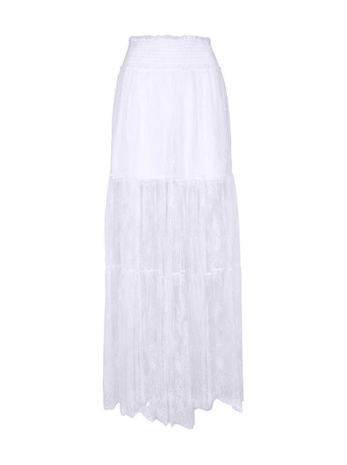 Ermanno Scervino - Duga suknja od čipke - D38ETGN15PIZ-MF010 D38ETGN15PIZ-MF010