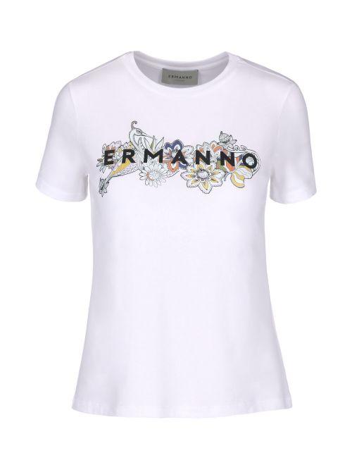 Ermanno Scervino - Majica sa logom - D38ETTS061JEA-MF010 D38ETTS061JEA-MF010