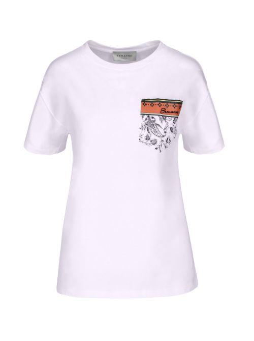 Ermanno Scervino - Majica sa džepom - D38ETTS111JCO-MF010 D38ETTS111JCO-MF010
