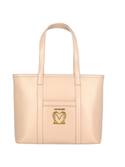 Love Moschino - Velika torba sa zlatnim logom - JC4263PP0CKK0107 JC4263PP0CKK0107