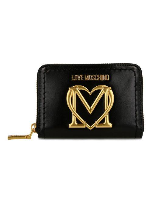Love Moschino - Novčanik sa metalnim logom - JC5636PP0CKK0000 JC5636PP0CKK0000