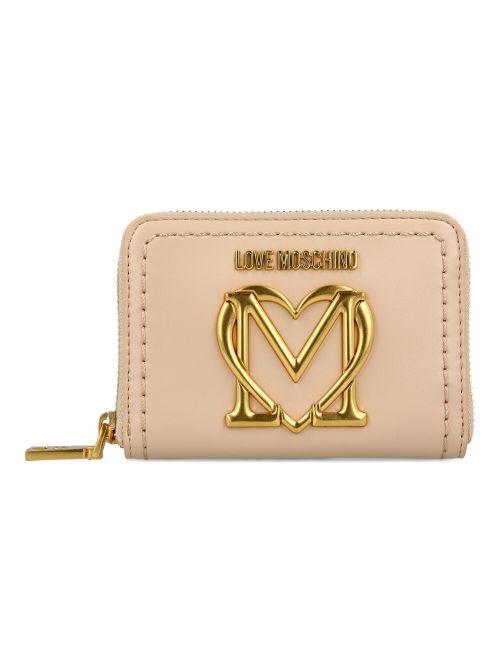Love Moschino - Novčanik sa metalnim logom - JC5636PP0CKK0107 JC5636PP0CKK0107