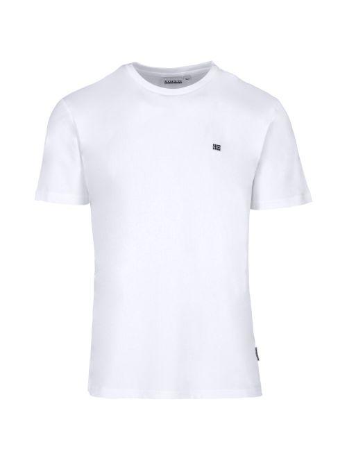 Napapijri - Pamučna majica sa mini logom - NP0A4EW80021 NP0A4EW80021