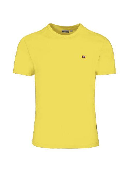 Napapijri - Pamučna majica sa mini logom - NP0A4EW8YA91 NP0A4EW8YA91