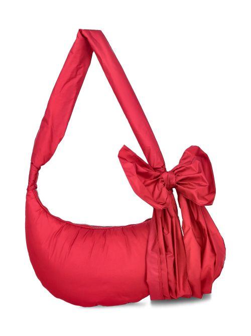 Red Valentino - Torba na rame sa mašnom - VQ0B0C44BAA-L58 VQ0B0C44BAA-L58