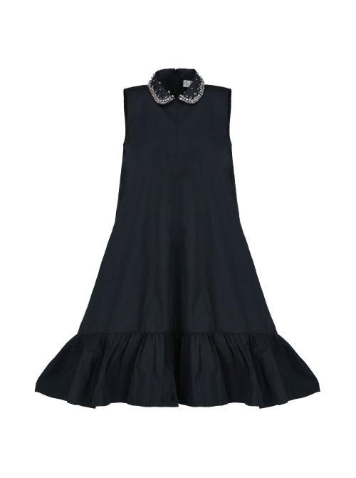 Red Valentino - Kratka haljina sa karnerom - VR0VAAV51FP-0NO VR0VAAV51FP-0NO