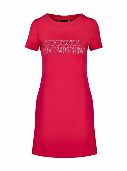 Love Moschino - Mini haljina sa logo-aplikacijom - W 5 929 15 M 3876-O49 W 5 929 15 M 3876-O49