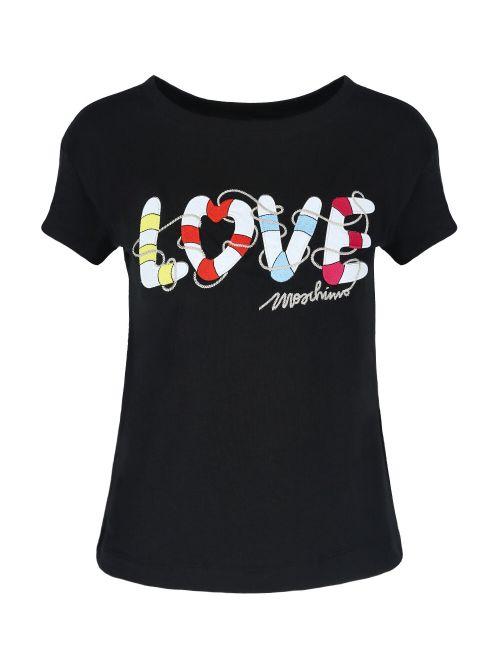 Love Moschino - Majica sa logo-printom - W 4 F30 2I E 1951-C74 W 4 F30 2I E 1951-C74