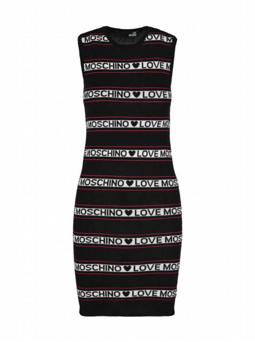 Love Moschino - Kratka haljina sa logo-printom - W S 52R 10 X 1422-C74 W S 52R 10 X 1422-C74