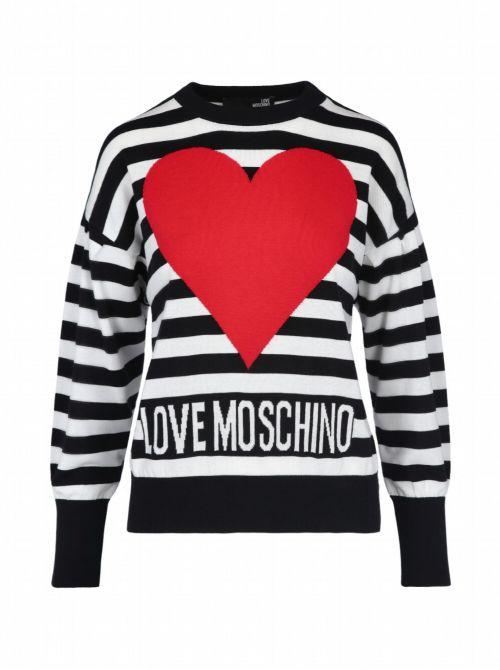 Love Moschino - Džemper sa logom - W S 63G 10 X 1404-C74 W S 63G 10 X 1404-C74