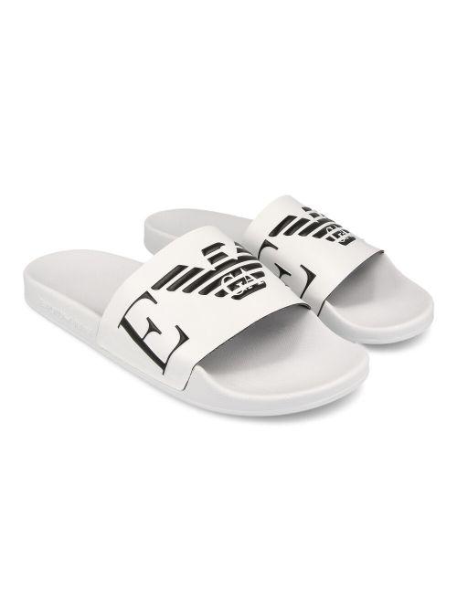 Emporio Armani - Gumene papuče sa logom - X4PS06-XM760-L007 X4PS06-XM760-L007